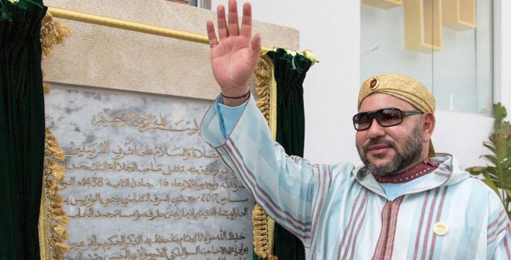 Casablanca : Le Roi lance le projet de réaménagement du vélodrome d'Anfa
