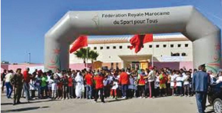 Sport pour tous: Une journée dédiée à Ait Atab