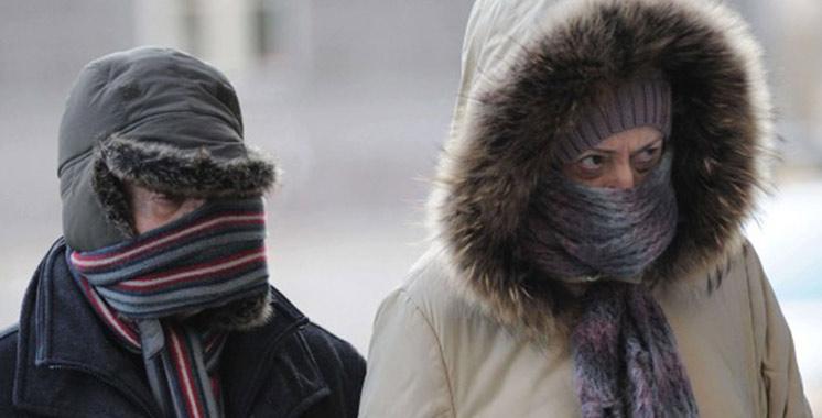 Météo : Temps froid et rafales de vent dans plusieurs régions du Maroc