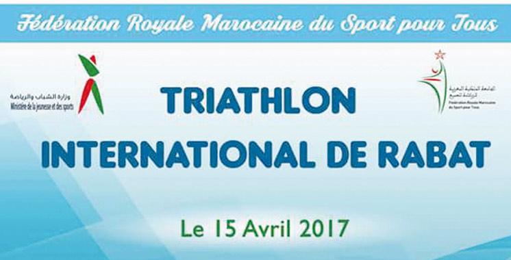 Triathlon international de Rabat: 22 pays présents le 15 avril prochain