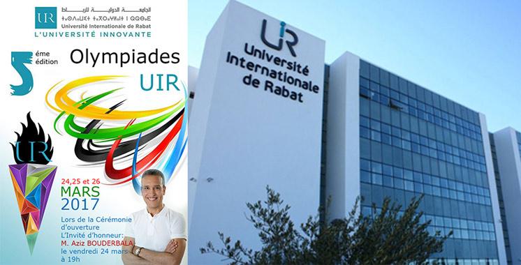 L'UIR organise la 5ème édition de ses Olympiades