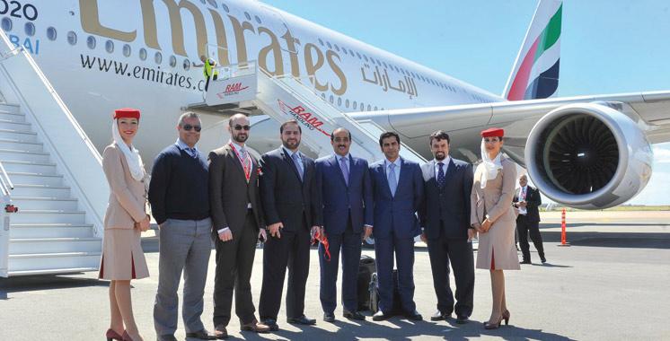 L'aéroport Mohammed V de Casablanca accueille l'A380 d'Emirates