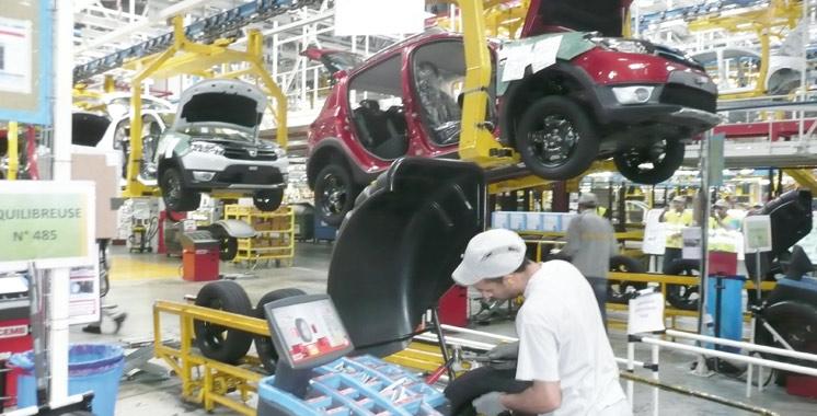 La production industrielle s'améliore à fin février
