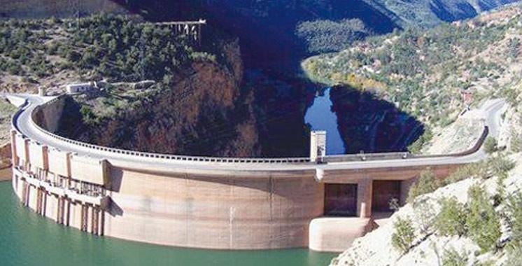 Barrages du Royaume: Un taux de remplissage de 57,6%  à la date du 27 mars