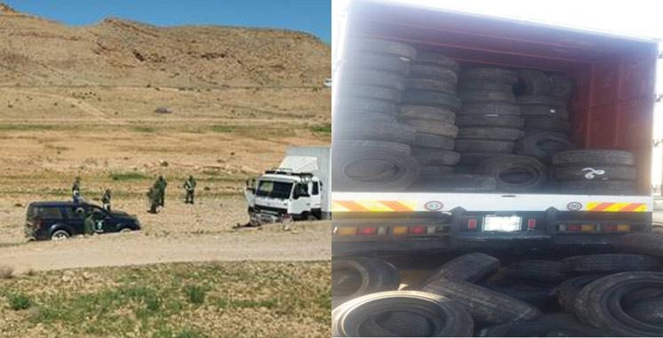 Saisie près de Nador de 2.730 pneus usagés pour voitures