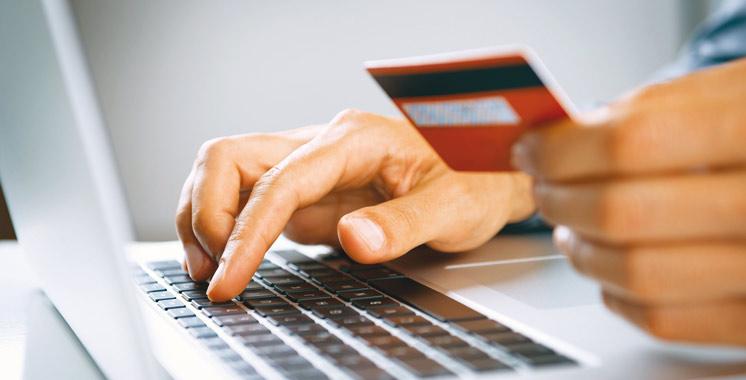 Paiement en ligne : 3,1 millions d'opérations pour 1,3 milliard de dirhams