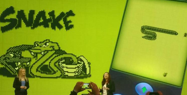 Nokia fait revivre son jeu culte «Snake»