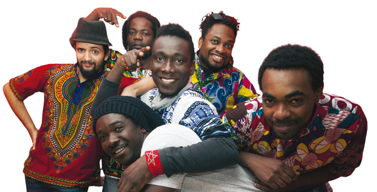 Le groupe Africa United au Lausanne afro fusions festival