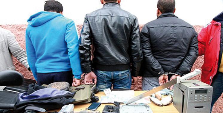Laâyoune : Fin de parcours pour trois cambrioleurs