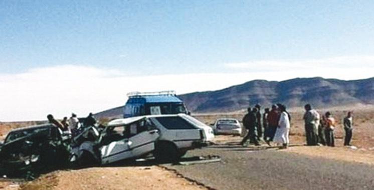 Province de Guelmim : Un mort et un blessé grave dans un accident de la route à Taghjijt