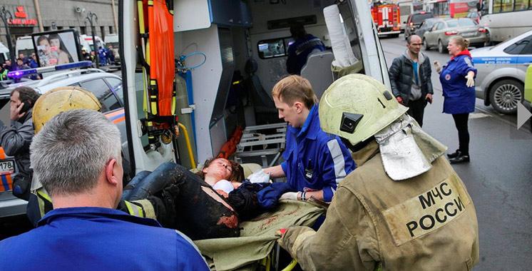 Russie : 10 morts dans l'explosion dans le métro de Saint-Pétersbourg