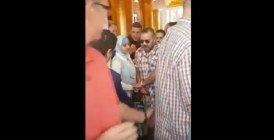 USA : Vidéo du Roi Mohammed VI avec Moulay El Hassan à la sortie de l'hôtel