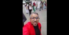 Vidéo: Un Marocain contre une manifestation du Polisario en France