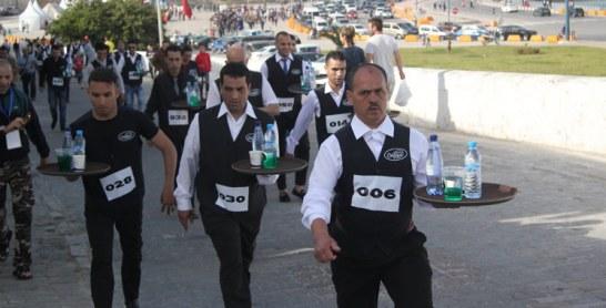 Course des garçons de café à Tanger : Nourddine Lakouidi et Majda Kabib s'illustrent