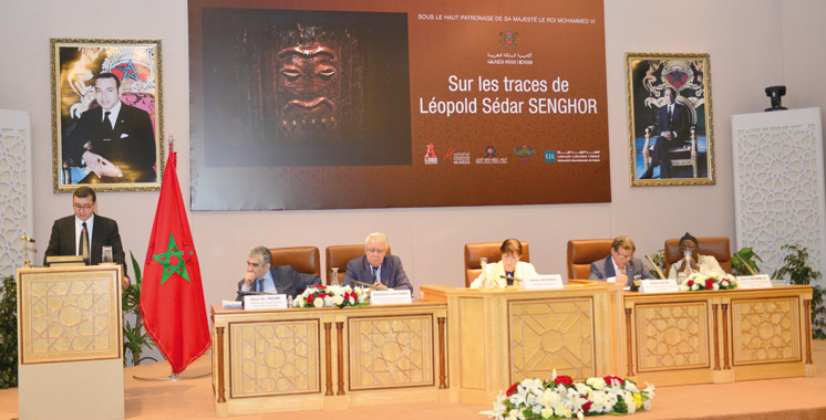 Programme d'animation culturelle «Afrique en Capitale»: L'Académie du Royaume  du Maroc rend hommage  à Léopold Sédar Senghor
