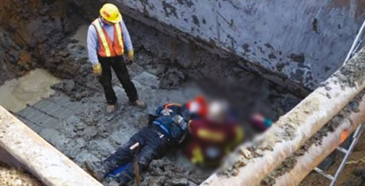 Accident du travail à M'diq : Décès de deux ouvriers fauchés par un camion sur un chantier  de construction