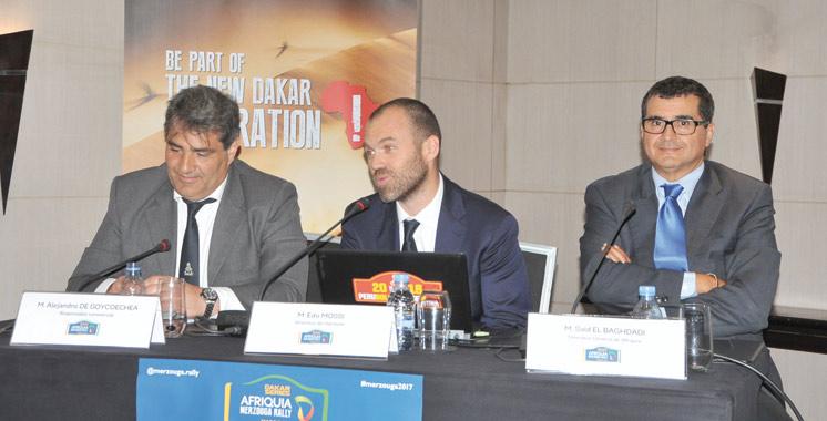 Sous le Haut patronage de SM Mohammed VI: La 8e édition de l'Afriquia Merzouga Rally du 7 au 12 mai 2017