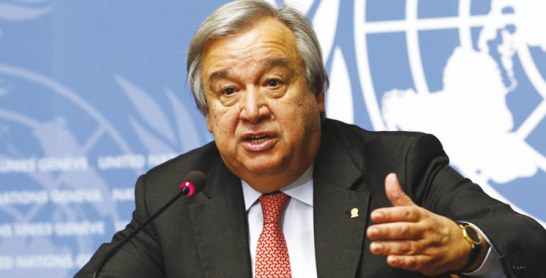 Minurso : Guterres veut prolonger son mandat d'un an