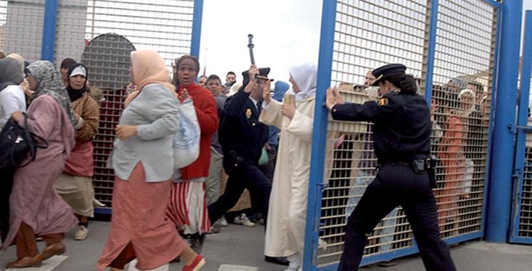 Décès d'une femme suite à une bousculade au niveau du poste-frontière Bab Sebta