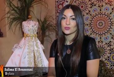 Caftan 2017- Salima Boussouni : Une collection Caftan en hommage à Lady Diana