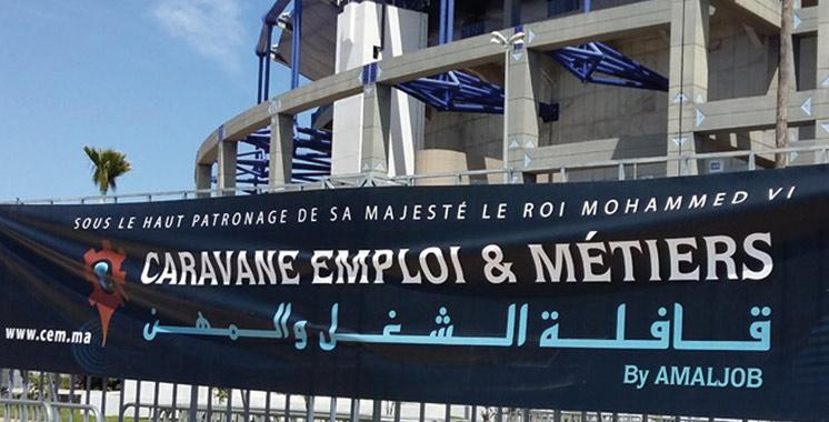 La 6e édition de la Caravane emploi et métiers fait escale à Rabat