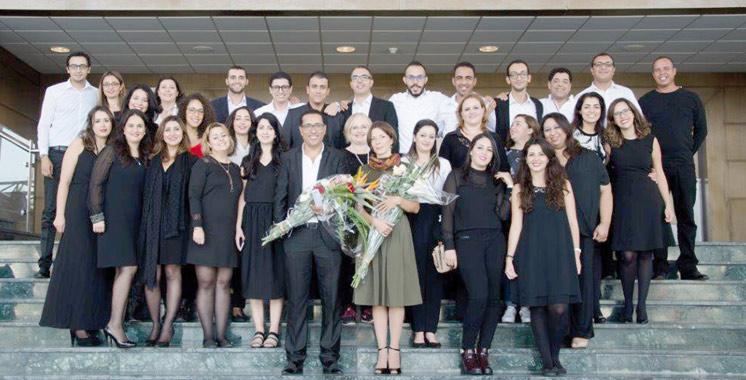 Lors du 3ème Festival international Sawt des chœurs et ensembles vocaux : Société Générale Maroc dévoile  pour la première fois sa chorale