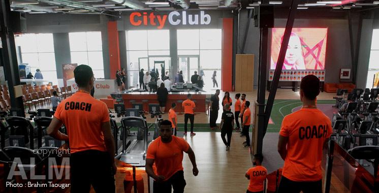 City Club Lichtleiste
