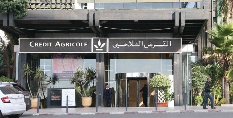 Crédit Agricole du Maroc: 86 MMDH de crédits distribués à fin mars