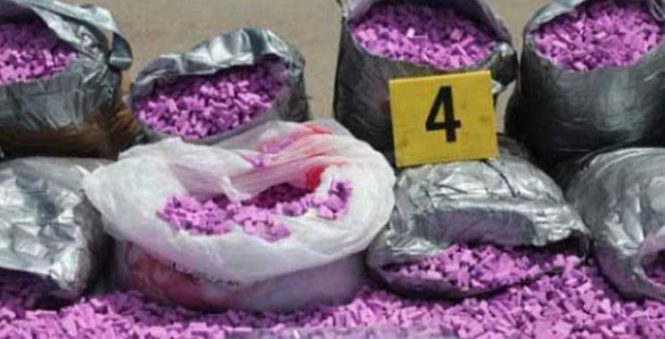 Bab Sebta : Saisie de plus de 11.000 comprimés psychotropes