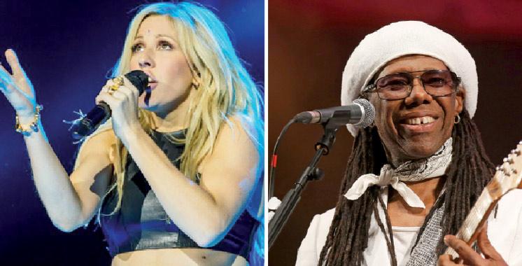 16ème Festival Mawazine Rythmes du Monde: Ellie Goulding et Nile Rodgers  en week-end d'ouverture