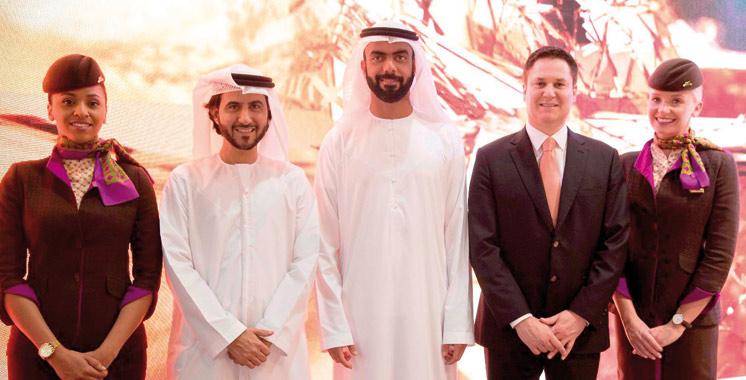 Etihad Airways lance les vols avec escale à Abu Dhabi