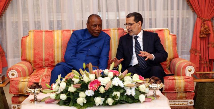 SIAM : Arrivée à Fès du président guinéen pour participer à la 9ème édition