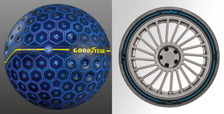 Salon international de Genève: Goodyear révèle l'Eagle 360 Urban