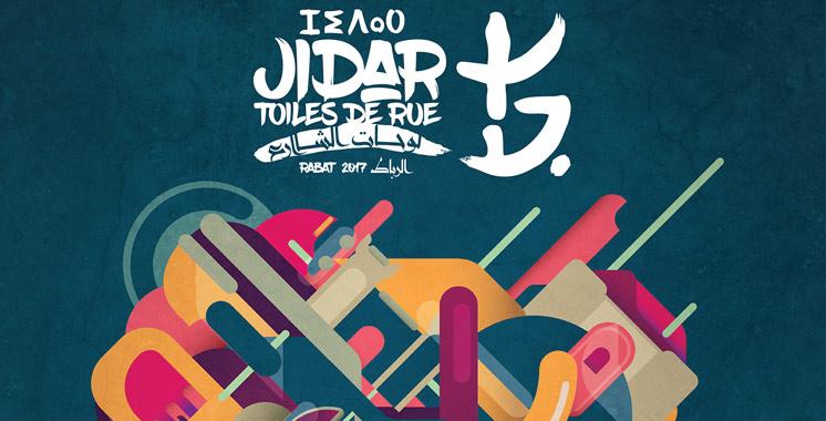 Jidar : 10 murs de la capitale investis  par une vingtaine d'artistes