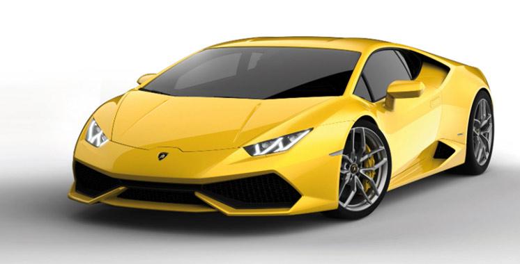 Italie : Une Lamborghini pour la police contre les chauffards