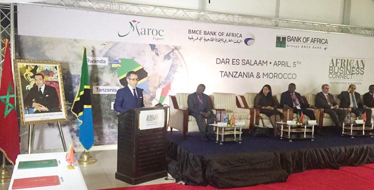 African Business Connect 2017: Maroc Export et BMCE Bank of Africa lancent à Dar Es Salam l'étape tanzanienne