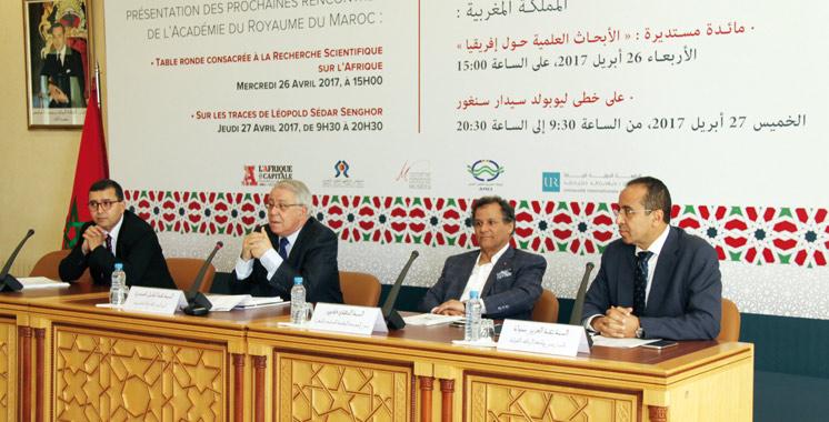 L'Académie du Royaume du Maroc rend hommage à Léopold Sédar Senghor