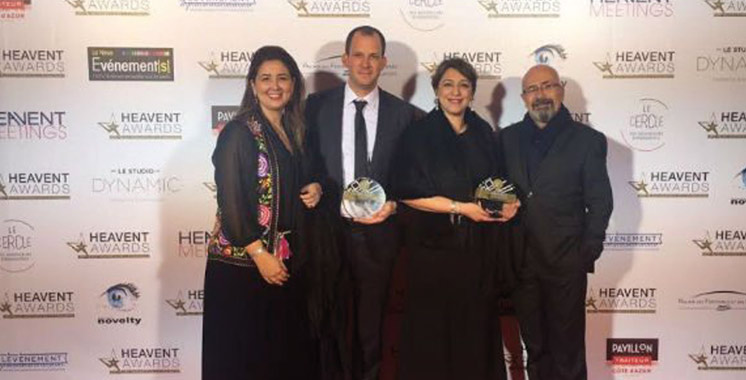 Heavent Awards : Mosaïk Events & Co se distingue à l'international