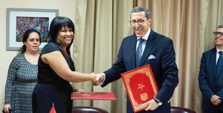 Maroc-Cuba : Rétablissement des relations diplomatiques après 37 ans de gel
