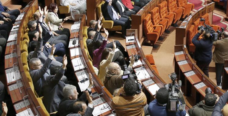Parlement-Maroc-Vote