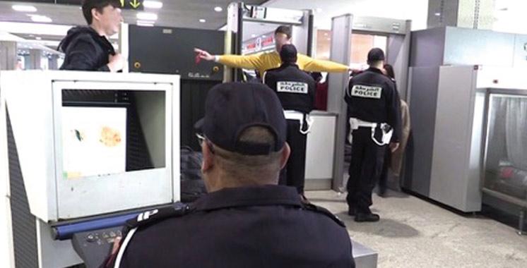 Un policier en garde à vue pour vol présumé à l'intérieur de l'aéroport Mohammed V
