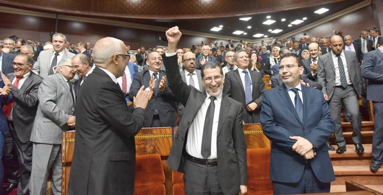 Le gouvernement El Othmani officiellement investi