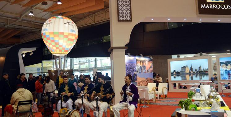 Belle démonstration de la destination Maroc à la Foire des voyages «Mundo Abreu» à Lisbonne