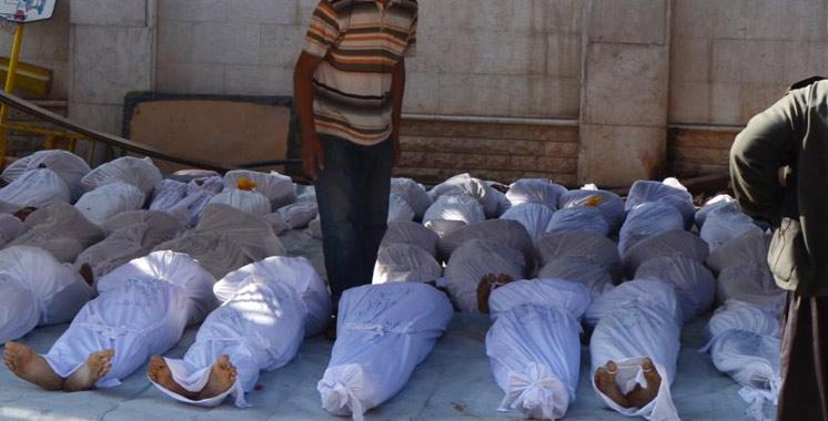 Syrie: 72 civils tués dans l'attaque «chimique»