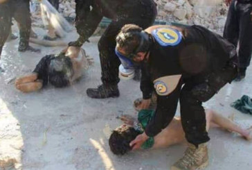 Syrie: 35 morts dans une attaque au «gaz toxique»