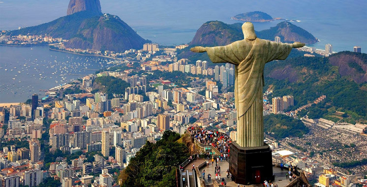 Arrivées touristiques au Brésil en 2016 : Le Maroc 1er pays arabe