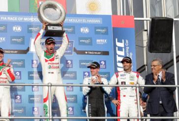 FIA WTCC Afriquia Race of Morocco 2017: Monteiro, premier leader de la saison