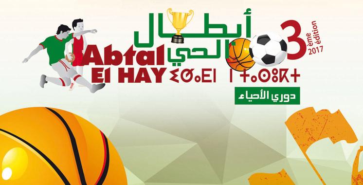 Programme national en football et basket-ball: «Les champions du quartier» de retour