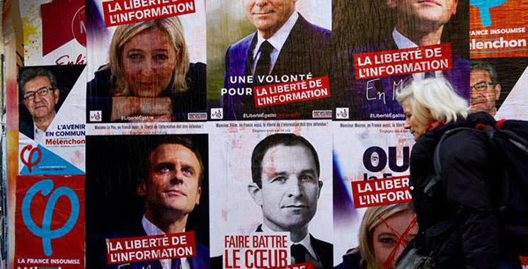 France : Les écarts se resserrent entre les candidats à la présidentielle