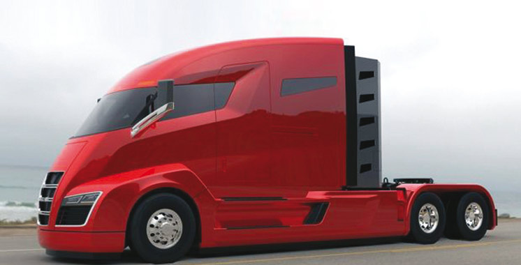 tesla va d voiler un camion lectrique en septembre aujourd 39 hui le maroc. Black Bedroom Furniture Sets. Home Design Ideas